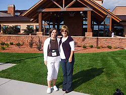 Jan and I at Kanab