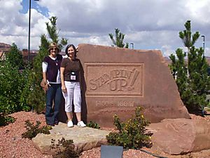 Jan and I at Kanab 2
